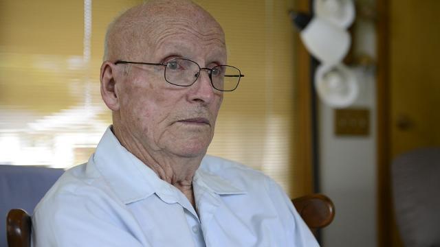 WWII veteran Leo Bundschuh