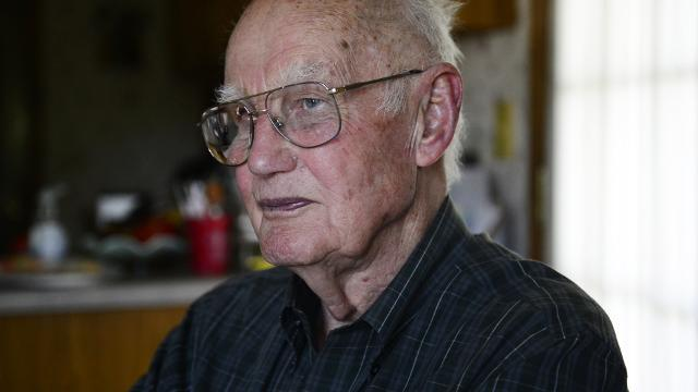 WWII veteran Robert Parman