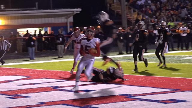 Barasch TD gives Johnstown early lead