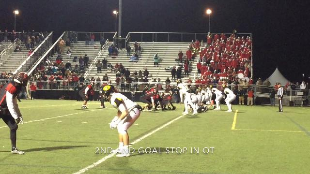Tri-Valley defeated Bellefontaine Friday night in the second round of the playoffs.