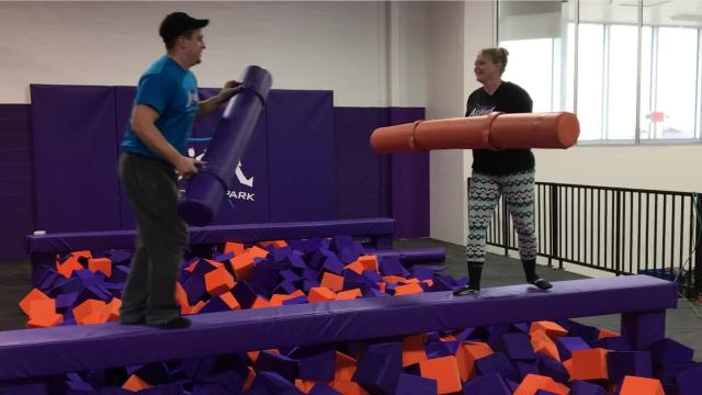 Get a behind-the-scenes look at Ontario's Altitude Trampoline Park, which officially opens this Saturday.
