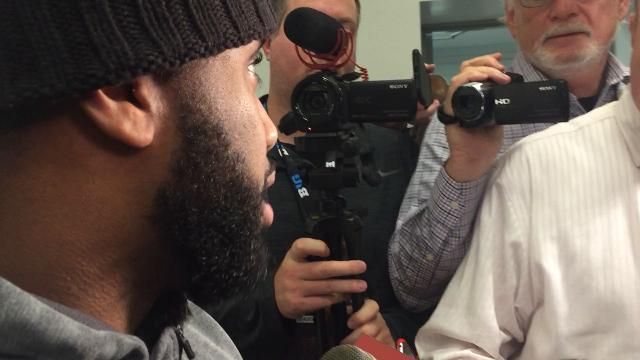 OSU linebacker Chris Worley on playing three positions in three weeks