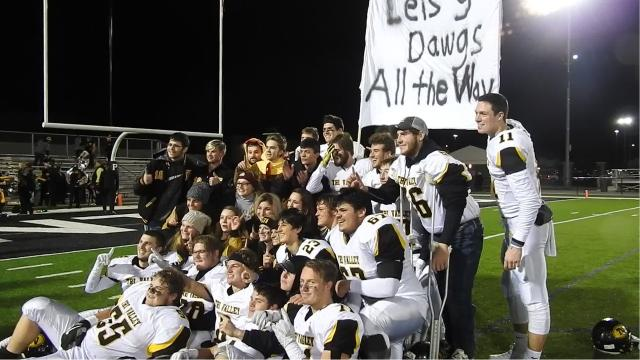 Tri-Valley defeated St. Vincent St. Mary 24-6 to advance to the state final game.