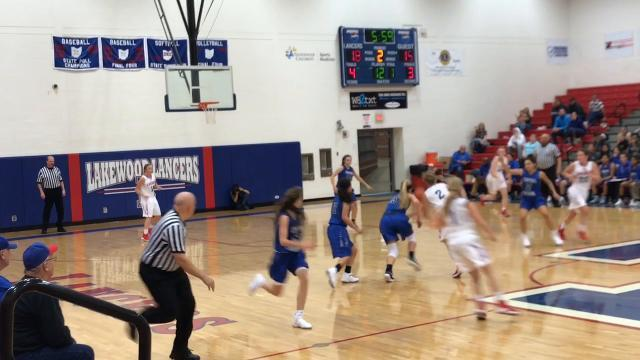 Lakewood girls basketball battles Central Crossing to wire