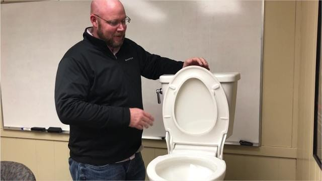 The Perrysville-based manufacturer created the vanquish, a new toilet designed for easy cleaning.
