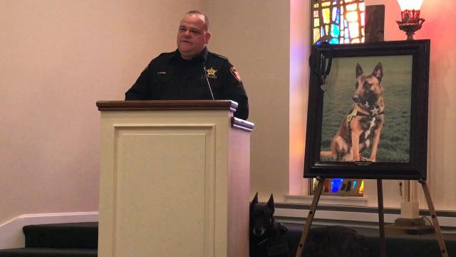 Sheriff Tim Rogers and Det. Dave Stone speak on how late K-9 Officer Dingo came to the Coshocton County Sheriff's Office and benefited the department.
