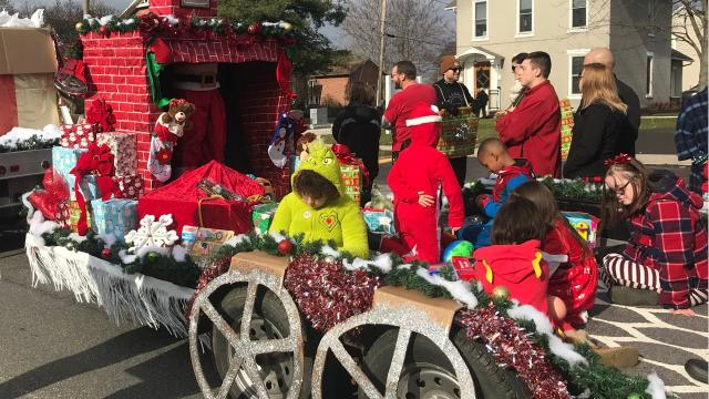 """Unwrap the Magic of Christmas"" was the theme for the Downtown Marion Christmas Parade Saturday."