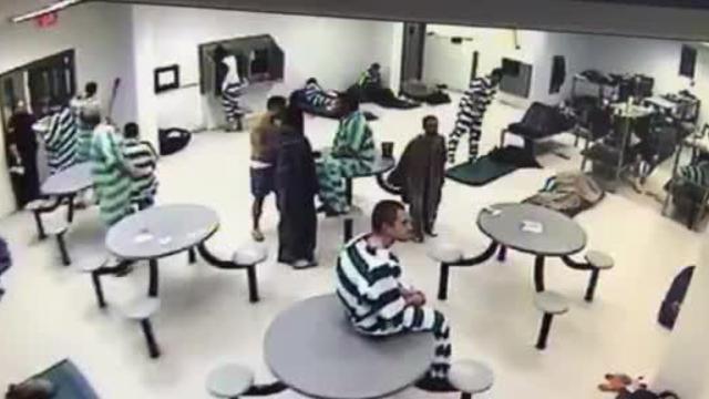 Richland County Jail assault on guard