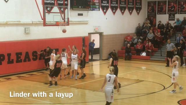 Highlights: Marion Harding at Pleasant girls basketball