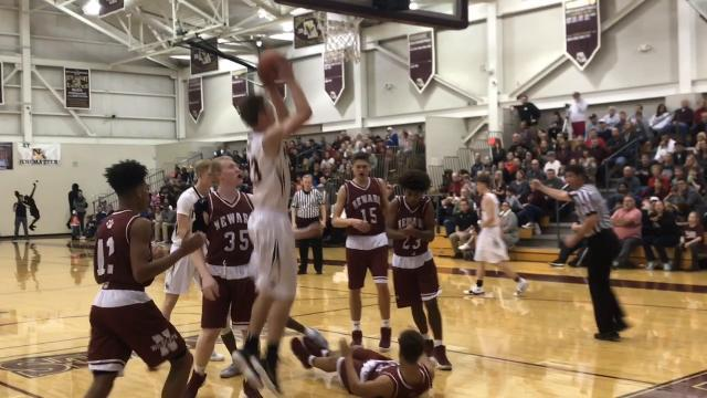 Newark boys get in win column at New Albany