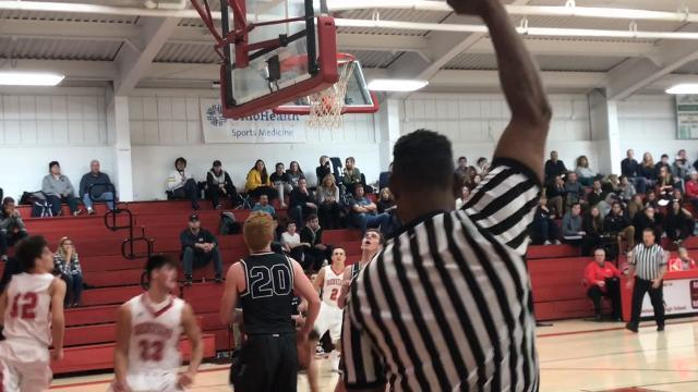 Granville boys basketball locks down Johnstown