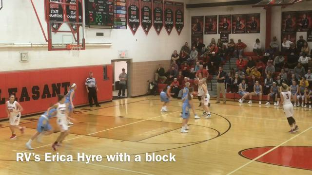 Highlights: River Valley at Pleasant girls basketball