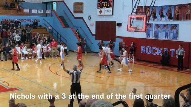 Elgin at Ridgedale boys basketball highlights