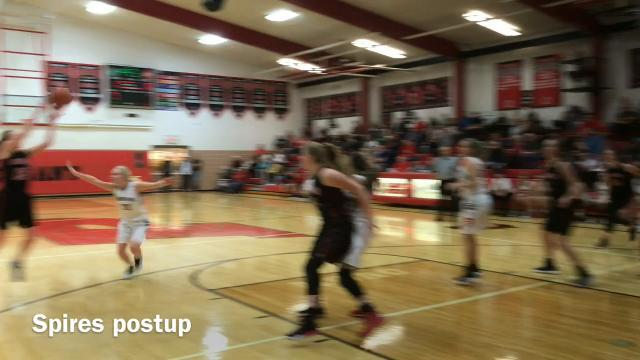 Overtime: Cardington at Pleasant girls hoops highlights