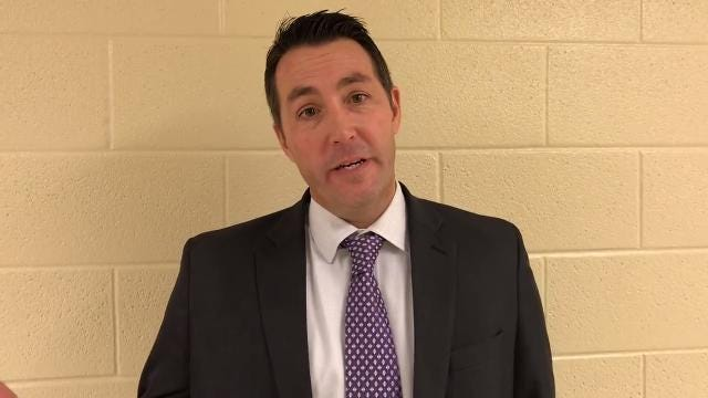 Unioto coach Matt Hoops talks about Friday's 48-45 win over Chillicothe.