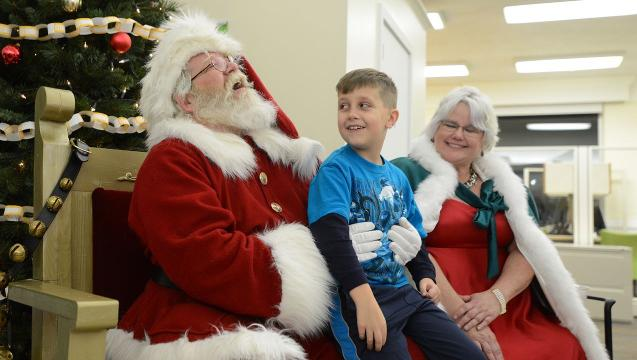 Portraying Santa brings magic to man's life