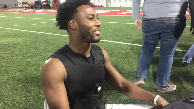 OSU safety Jordan Fuller on progress he's made and brother who was part of USC-UCLA rivalry