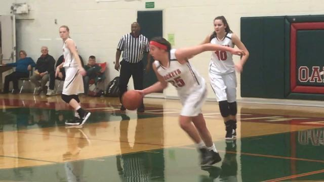SJCC at Oak Harbor girls basketball