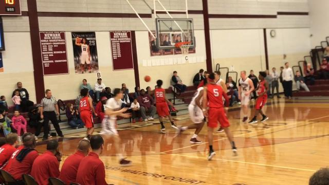 Newark blows out Harvey in holiday classic