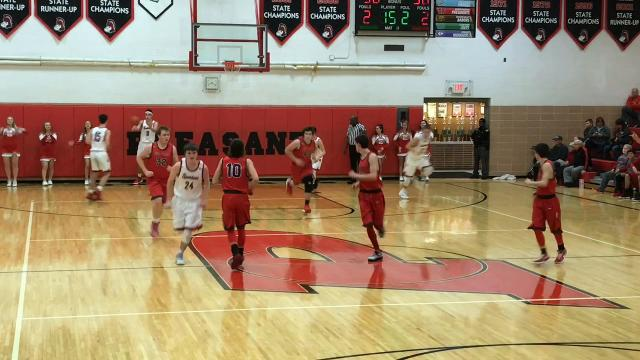 Pleasant gave Elgin its first loss of the season in a non-league boys basketball game 51-44 Saturday night.