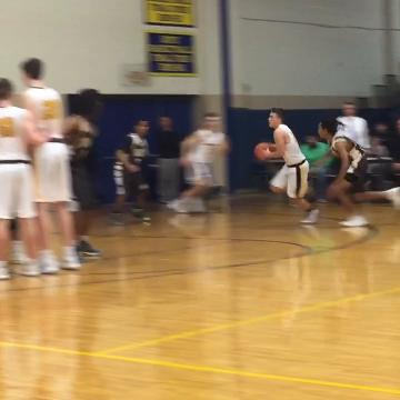 Lancaster's Austin Gootee hit the game-winner with 1.5 seconds left to give the Gales a 50-48 win over Columbus West.