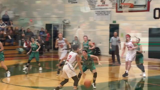 Margaretta at Oak Harbor girls basketball