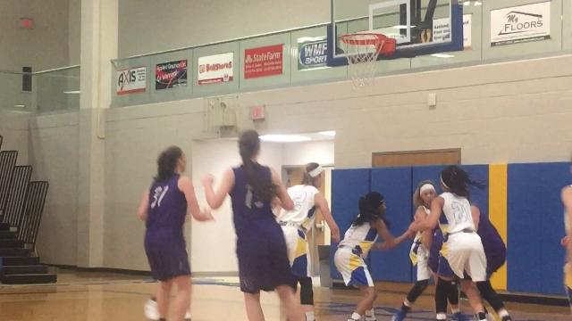 Highlights of Lex's 48-40 win, including 2 of Julia Kocher's 5 second chance baskets en route to 17 points and 12 rebounds