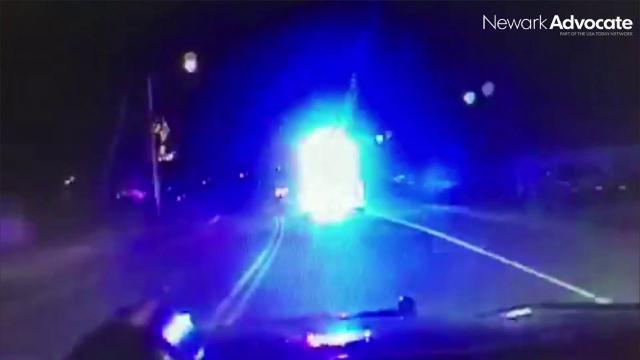 Dash camera video from a police pursuit in the Hebron area on Dec. 29, 2017 has been released. Terrance Balo, 43, was being pursued by Hebron Police and the Licking County Sheriff's Office.