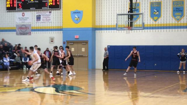 Pleasant at River Valley boys basketball highlights