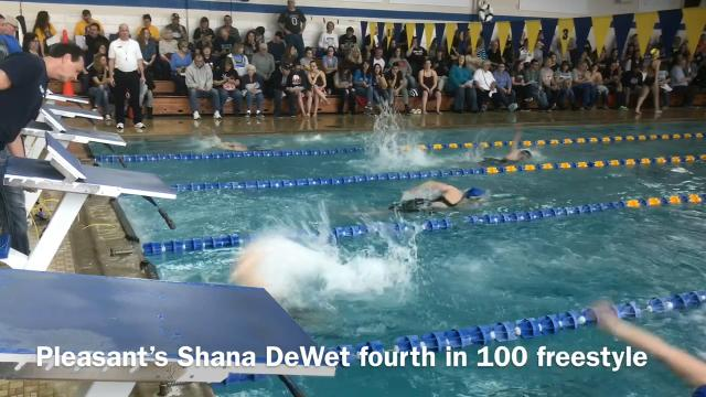 Here are how some Marion-area athletes fared at Saturday's Mid Ohio Athletic Conference Swimming Championships at Ontario High School.