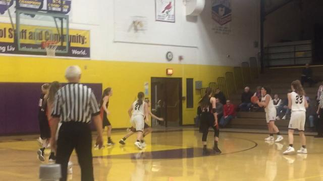 Highlights from Ashland's 50-45 win over Lexington in Ohio Cardinal Conference action