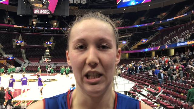 Licking Valley overcame an early 15-2 deficit to beat Watkins Memorial 56-48 at Quicken Loans Arena.