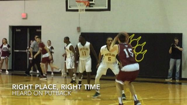 Newark came back from 6 down late in the 3rd for a 63-50 win over Northland at Ohio Dominican
