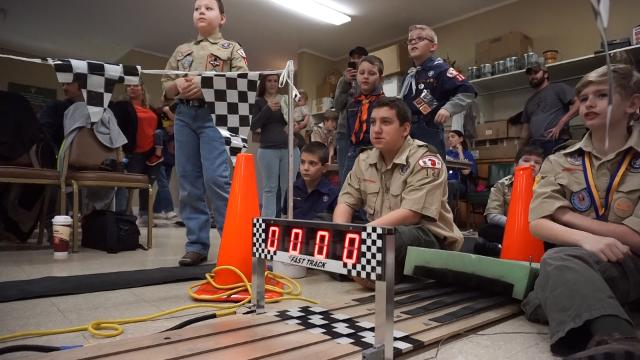 Zanesville Boy Scout Pack 128 held its annual Pinewood Derby on Saturday.