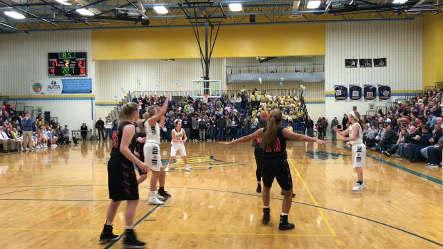 River Valley earned its second straight Mid Ohio Athletic Conference girls basketball championship, this one outright, after a 50-37 home win over Marion Harding Friday.