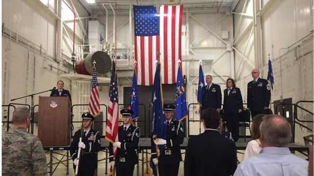 Col. Allison Miller is the new commander of the 179th Airlift Wing of the Ohio Air National Guard.