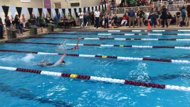 Eight of 22 meet records were broken during Saturday's Licking County League championships.