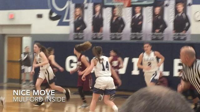 Host Granville beat Licking Heights 50-39, clinching its first girls league title in 7 years.