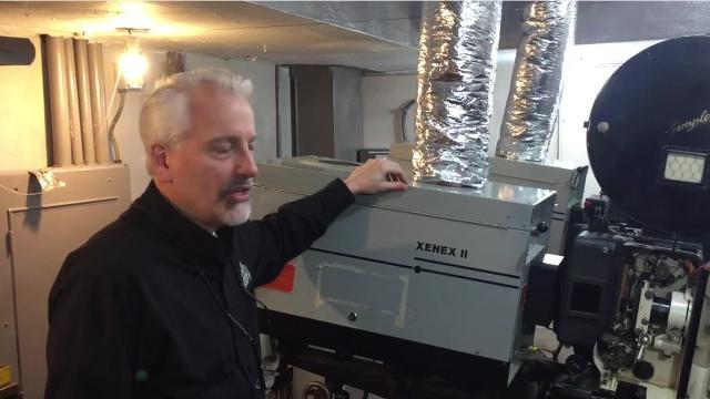 Renaissance Theatre's Michael Miller explains what went into refurbishing the two film projectors.