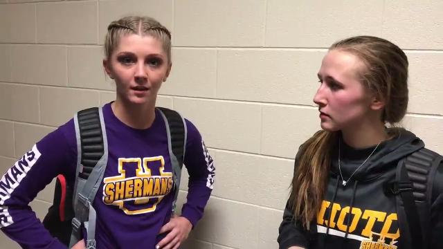 Behind Summer Sigman and Amber Cottrill, Unioto won its first conference title since 2014-15.