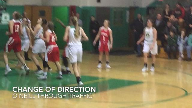 Newark Catholic beat visiting Utica 44-38, clinching a share of the LCL Cardinal girls title