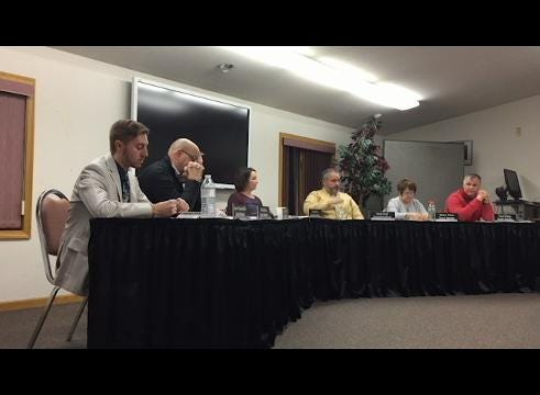 Excerpts from Thursday's Tri-Valley Local Schools board meeting asking Board member Jason Schaumleffel to resign.