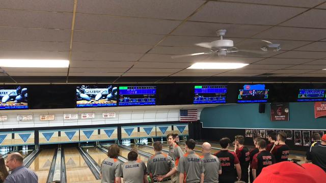 Cooper's Bowl hosted Saturday afternoon's Mid Ohio Athletic Conference Bowling Tourament with Marion Harding winning the boys title easily and North Union claiming a tightly contested girls championship.