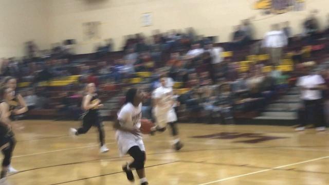 Licking Heights fended off Watkins Memorial's comeback bid to gain a 59-54 victory in the rivalry game.