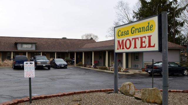 Paula Garcia, the aunt of Corena Bower, who was shot and killed Saturday night, Feb. 25, 2018, at the Casa Grande Motel in Lancaster spoke to the Eagle-Gazette about her niece.