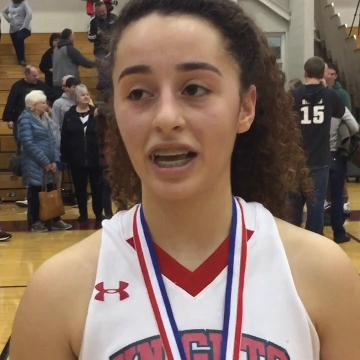 FCA's Celeste Mershimer talks about key to winning Division IV District Championship