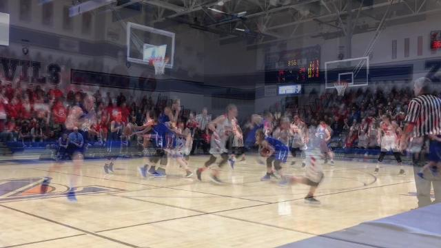 Sheridan almost let a 10-point lead disappear in the fourth quarter, but the Generals held on for their first regional tournament win since 2004.