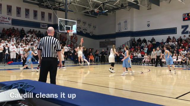 River Valley saw its girls basketball season end Tuesday in Zanesville as New Philadelphia beat the Vikings 53-31 in a Division II regional semifinal game.