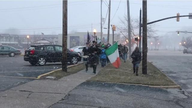 Immaculate Conception Church held its seventh annual Ring of Perry celebration in honor of St. Patrick with a march through Port Clinton.