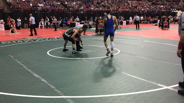 Northmor's Gavin Ramos beats a district champ 5-2 in first round of state tourney.